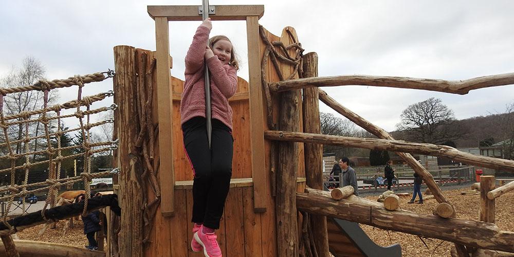Lake District Wildlife Park Opens New Adventure Playground